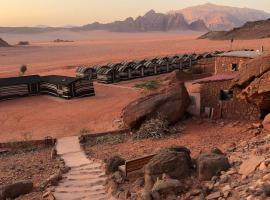 Wadi Rum Light Camp with Tour