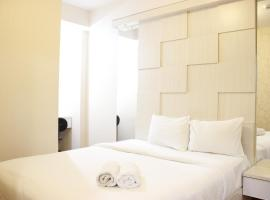 Spacious 1BR Sudirman Suites Apartment Bandung with Dining Room By Travelio