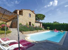 Beautiful home in Monte San Savino w/ WiFi, 1 Bedrooms and Outdoor swimming pool
