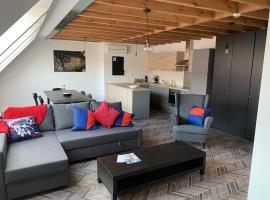 Gîte de Tournai-Cathédrale-Centre historique, self catering accommodation in Tournai