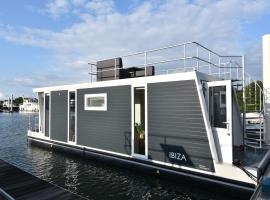 Tiny floating house Ibiza