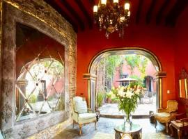 Villa Zacateros Luxury Historic, hotel in San Miguel de Allende