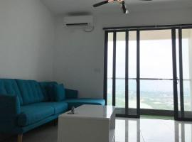 NEW Premium Homez Suite 2R2B with Sea View, apartment in Butterworth
