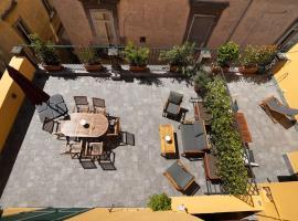 Design Apartment with Terrace Next Toledo Metro Stop