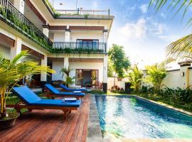 Le Saint Bali-Canggu: affordable room & big pool, cottage in Canggu