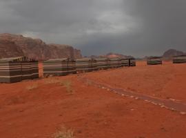 Sand and stone camp - Wadi Rum desert