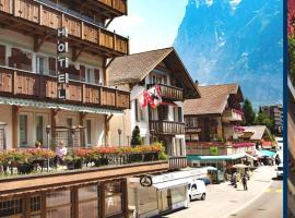 Hotel Hirschen - Grindelwald, hôtel à Grindelwald