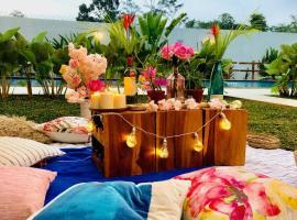 bali garden pool, pet-friendly hotel in Bogor