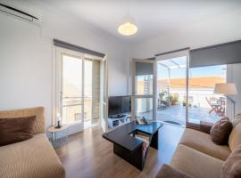 The ROOF - Sea View Apartment in the center of Aegina town