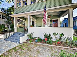 New Listing! Modern Retreat in Historic Downtown Duplex