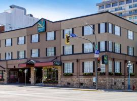 Quality Inn Downtown Inner Harbour, hotel near WildPlay Element Parks, Victoria