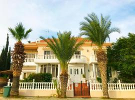 Spectacular Family Villa with a Private Pool, hotel in Oroklini