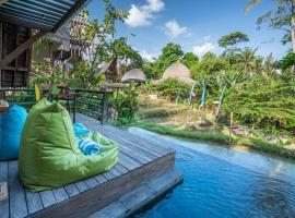Menzel Ubud, hotel with pools in Ubud