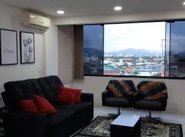 Seu apartamento na praia, pet-friendly hotel in Balneário Camboriú