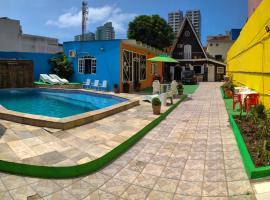 Pousada Alojaki Hostel, hotel near Litoral Plaza Shopping, Praia Grande