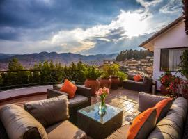 Hotel Encantada Casa Boutique Spa, hotel with jacuzzis in Cusco