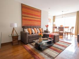 Simply Comfort - Bright and Spacious Apartment in the Heart of Miraflores