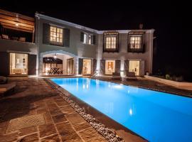 Barbati Villa Sleeps 8 Pool Air Con WiFi