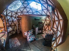 Купольный дом Студия, дом для отпуска в Красной Поляне
