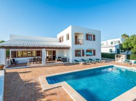 Binibequer Vell Villa Sleeps 10 with Pool and Air Con