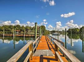 NEW! Crystal River House w/ Access to Boat Dock!