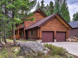 NEW! Exquisite Log Cabin - Walk to Payette Lake!