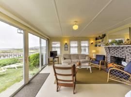 Waterfront West Yarmouth Cottage w/ Deck & Views!, holiday home in West Yarmouth