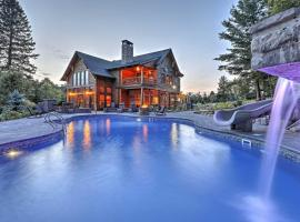 Luxury Lake Placid Home w/ Pool & Mountain Views!, hotel with jacuzzis in Lake Placid