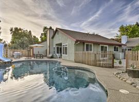 Modern Home w/ Pool & Office - Near DT Sacramento!