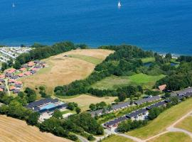 2 person holiday home on a holiday park in Aabenraa