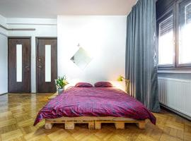 City Center Quiet Private Double Room in a shared apartment