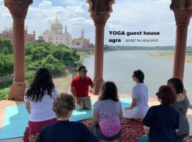 yoga guesthouse near TAJ MAHAL