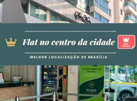 Flat no centro, Saint Moritz, hotel near Conjunto Nacional Mall, Brasília