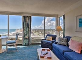 Ocean View Daytona Beach Studio w/Pool Access