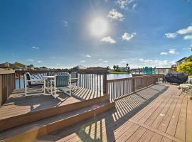 Waterfront Corpus Christi House w/ Deck+Dock!