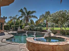 Prime Home on Golf Course w/Private Pool & Spa