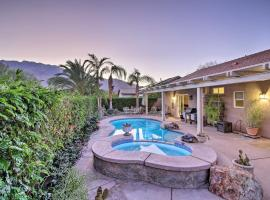 Palm Springs Home w/ Pool, Mins from Escena!