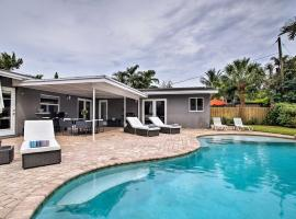 Tropical Wilton Manors Home w/ Outdoor Oasis!