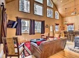 NEW! Scenic Fairplay Cabin, 4 Wooded Acres & Deck!, hotel in Fairplay