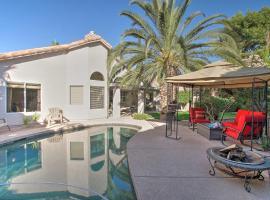Desert Oasis w/ Pool, Near TPC Scottsdale!