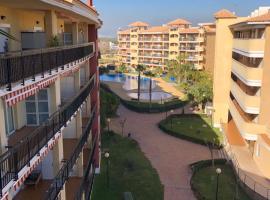 Urbanización Mar de Canet, 2 dormitorios con piscina comunitaria, garaje y wifi, hotel in Canet de Berenguer