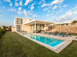 Binibequer Vell Villa Sleeps 10 with Pool Air Con and WiFi