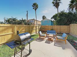 Walk to Beach! All-Suite Condo w/ Private Backyard condo