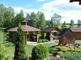 Pokoje i Domki PRZY LEŚNICZÓWCE, self catering accommodation in Wiele