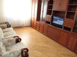 Green, apartment in Zelenograd