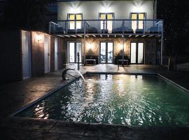 Casa Costoya, hotel con piscina en Arzúa