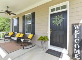 Lake Carolina house 30 minutes from Downtown Cola