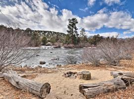 Riverfront Retreat on 40 Acres w/ Mtn Views!