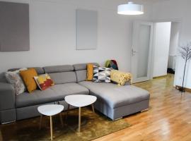 Bright, modern & cozy apartment