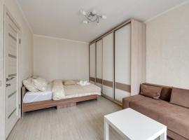 Cosy apartment with two bedrooms on Khersonskaya street, бюджетный отель в Москве